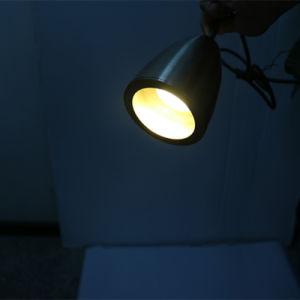 Simple Hotel Decorative Matt Chrome Round Pendant Lamp pictures & photos