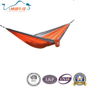 Hot Selling Waterproof Nylon Camping Hammock pictures & photos