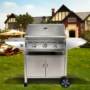 Brazilian BBQ Smoker 3 Burner Outdoor Gas Barbecue Grill pictures & photos