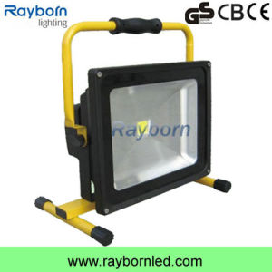 Low Price 20W Rechargeable and Portable LED Flood Work Light pictures & photos