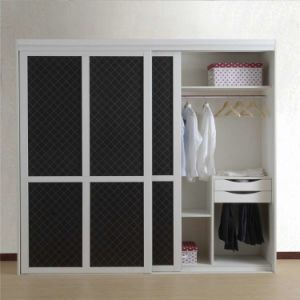 Modern Wooden Material Man Made Bedroom Wardrobe Design