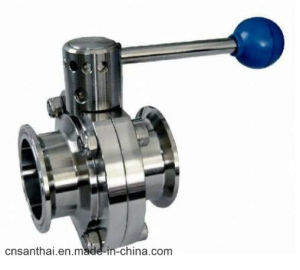 3A Standard Professional Stainless Steel Butterfly Valve