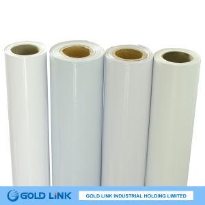 80mic Self Adhesive Transparent PVC Film (P6404-T) pictures & photos