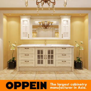 Oppein Classic Luxury Solid Wood Oak Bathroom Cabinets (OP15-116C) pictures & photos