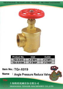 """Pressure Reduce Fire Hydrant Angle Valve: 2"""" NPT/2""""Bsp pictures & photos"""