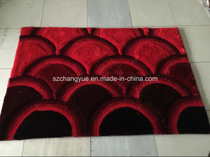 Polyester Modern Shaagy Rugs with 3D Effcets pictures & photos