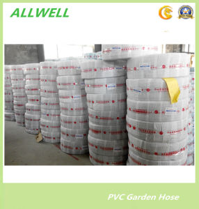 PVC Plastic Transparent Clear Water Hose Fiber Braided Hydraulic Garden Pipe Hose pictures & photos