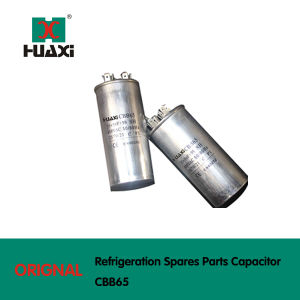 Refrigeration Spares Parts of Cbb65 Sh Capacitor for Air Conditioner pictures & photos