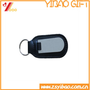 Custom Car Logo Leather Keychain for Promotional Gift (YB-K-028) pictures & photos