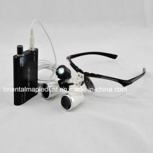 2.5X Binoculars Dental LED Headlight Magnifier Loupes pictures & photos