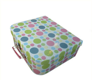 High End Paper Suitcase Shape Gift Box with Competitive Price pictures & photos