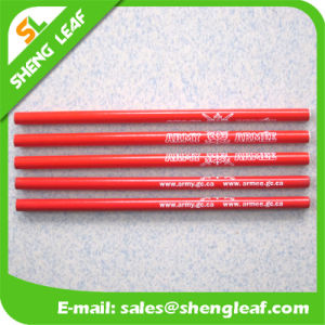 Red Sharpen or Not of Wooden Pencil in Stock (SLF-WP022) pictures & photos