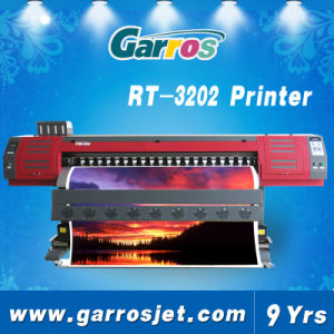 Garros New 3.2m 1.8m Large Format Printing Machine Eco Solvent Printer pictures & photos