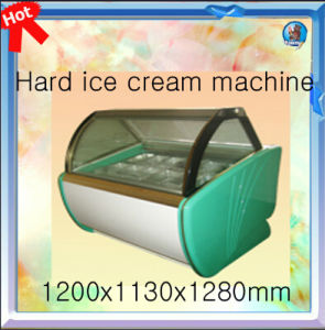 Hard Ice Cream Display Showcase DS-1200 pictures & photos