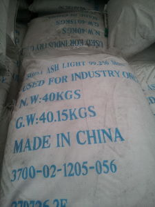 Factory Price Na2co3 Soda Ash Light 99.2% pictures & photos
