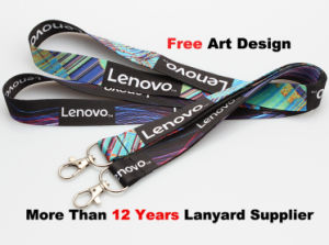 ID Card Holder Lanyard with Customer Logo Printing (L-801) pictures & photos