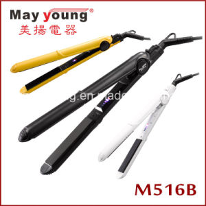 M516b Slim Titanium LED Display Hair Flat Iron pictures & photos