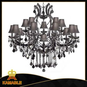 Hotel Project Black Crystal Chandelier Custom Lighting (Kam2054) pictures & photos