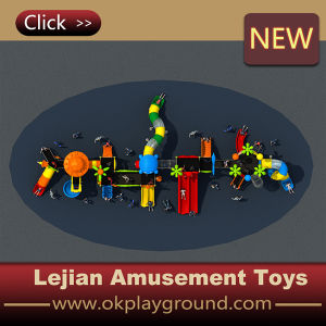Ce Sample Style Kids Outdoor Plastic Playground Slide Equipment (X1508-8) pictures & photos