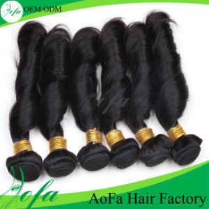 Wholesale 7A Grade Unprocessed Human Hair Remy Virgin Hair Weft pictures & photos