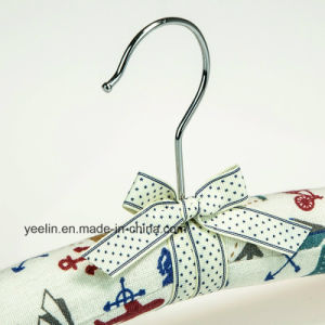 Satin Padded Clothes Hangers Cartoon Printed Clothes Hangers (YL-yf02) pictures & photos