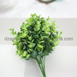 Plastic Leaves Aritificial Flower for Wedding/Home/Garden Decoration (SF16296) pictures & photos