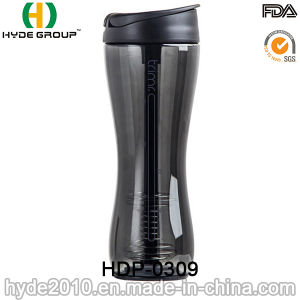 Christmas Plastic Shaker Bottle for Protein (HDP-0309) pictures & photos
