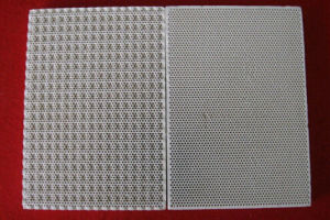 Cordierite Infrared Ceramic Honeycomb Plate pictures & photos