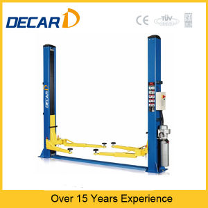 CE Certificated 2 Post Used Hydraulic Car Lift Dk-235e pictures & photos