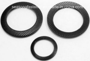 Ribbed Safety Lock Washer / Knurl Washer (DIN9250) pictures & photos