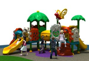 Kaiqi Small Colourful Slide Set for Children′s Playground (KQ30184A) pictures & photos