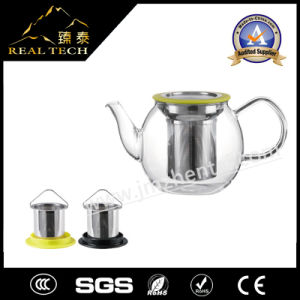 2016 New Design Glass Tea Pot pictures & photos