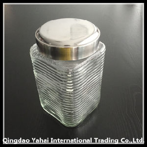1650ml Glass Food Storage Jar with Metal Lid pictures & photos