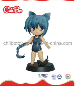 Little Cat Girl Plastic Figure Toy (CB-PM032-S) pictures & photos