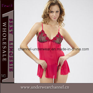 Wholesale Sexy Lady Lace Chemise Night Dress Lingerie (TSW6159) pictures & photos