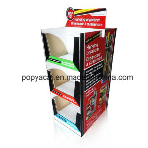 Cardboard Floor Display Stand, Point of Purchase Display, Corrugated Pallet Display pictures & photos