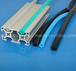 6mm Slot Dcr-6 Hard PVC Cover Profile for Covering Profile Nuts Snap Slip Profile Groove pictures & photos