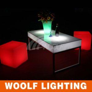 2016 Hot Sale LED Cube Chair Illuminated LED Cube
