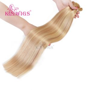 Double Drawn Pre-Bonded Hair Extension Remy Human Hair pictures & photos