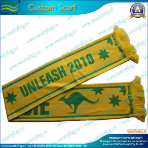 High Quality Football Fans Knitted Sport Scarf (M-NF19F06009) pictures & photos