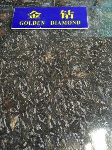Natural Stone Night Rose Golden Diamond Granite Stone Granite Tiles pictures & photos