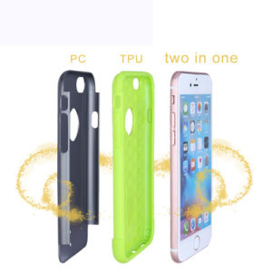 Shockproof Bumper TPU+PC Armor Case for iPhone 7/6s/6 Plus pictures & photos