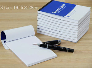 Perfect Glue Bound Blank Report Writing Pads pictures & photos