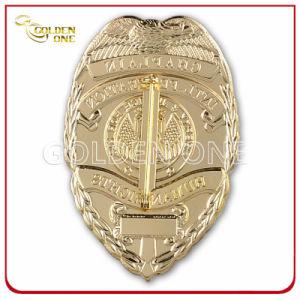 Custom 3D Logo Soft Enamel Finish Military Badge pictures & photos