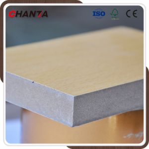 Warm White Matt/Texture Melamine MDF for The Middle East pictures & photos