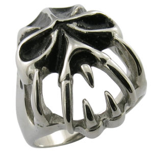 Mop Black Ring Imitation Jewelry Stainless Steel Jewelry pictures & photos