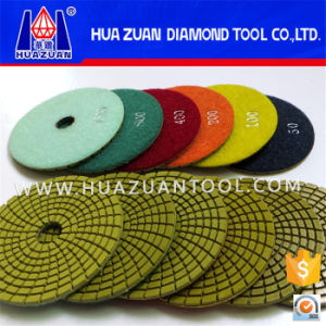 100mm Granite Buff Polishing Pads pictures & photos