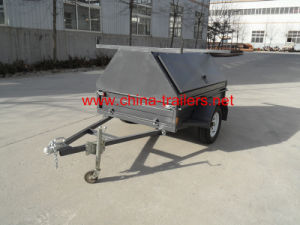 Galvanized Tradesman Trailer for Sale Tr0315 pictures & photos