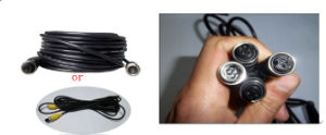 5m Extension Cable for CCTV Camera pictures & photos