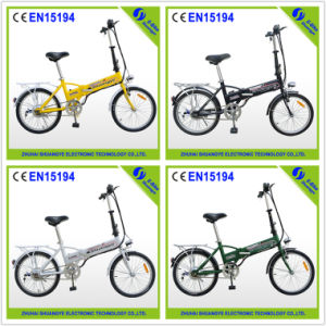 "20"" Mini Electric Bicycle with Four Colors pictures & photos"